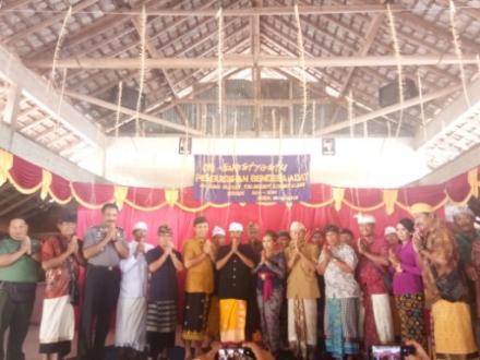 Penetapan Kelian Adat Desa Ularan Terpilih Periode 2019-2024