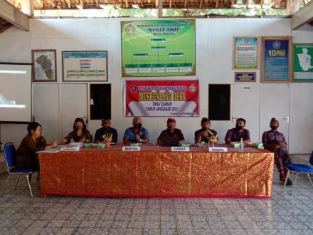 Pelaksanaan Musrenbang Desa Tahun Anggaran 2021 di Desa Ularan