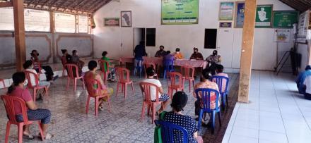 Penyaluran BST Pusat Tahap VII Kepada 65 KPM di Desa Ularan